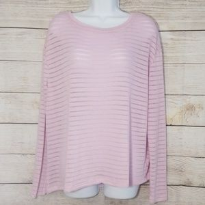 ❤3/$25 NWOT 14th & Union Pink Sweater Knit Top